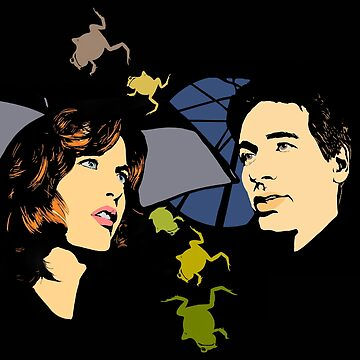X Files Mulder and Scully die Hand die Verletzt ( more 70 designs XFiles in my shop) by MimieTrouvetou