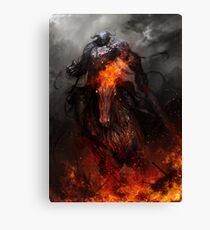 War and Ruin Canvas Print
