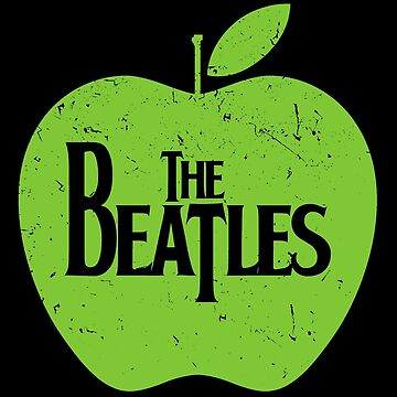 Beatles - Green Apple - Retro Vintage Style Music Shirt by WishingInkwell