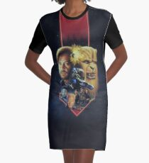 Wing Commander III Key art Graphic T-Shirt Dress