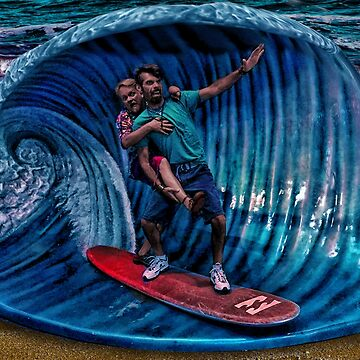 The Finished Surfers by GolemAura