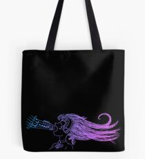 I Just Want to Sing (Dark Version) Tote Bag