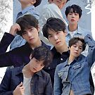 BTS Group Poster : Love Yourself Tear Edit by KpopTokens