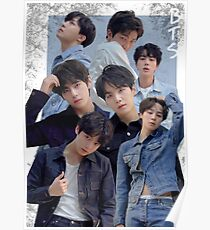 Póster Cartel del grupo BTS: Love Yourself Tear Edit