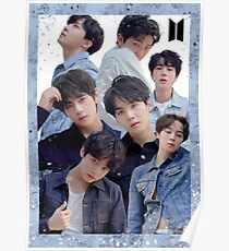 Póster Cartel del grupo BTS: Love Yourself Tear Edit (2)