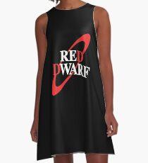 Red Dwarf A-Line Dress