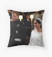 The Royal Wedding Throw Pillow