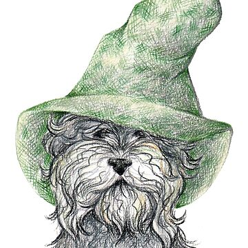 Wise Wizard Doggo by srw110