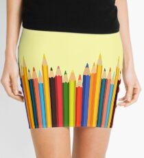 Pencils Mini Skirt