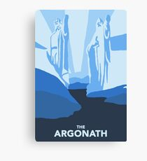 The Argonath - Lord of the rings Canvas Print