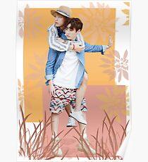 Póster Taekook Vkook BTS Poster