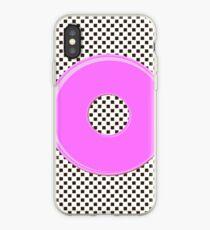 Pink bubble gum blot. iPhone Case