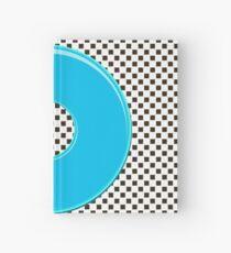 Blue bubble gum blot. Hardcover Journal