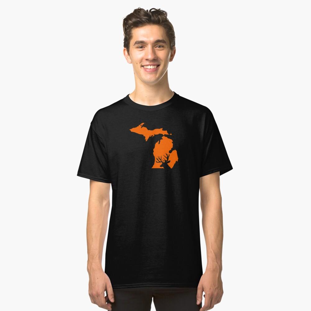 MICHIGAN DEER Classic T-Shirt Front