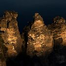 The Three Sisters, Sunset by Silvia Tomarchio