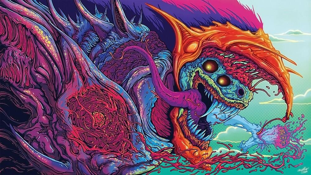Hyperbeast Dragon - Copyright by Filip Lewandowski