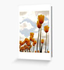 Tulip Friends Greeting Card