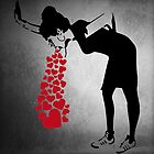 Banksy Love Sick by fridchar