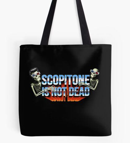 SCOPITONE IS NOT DEAD Tote bag