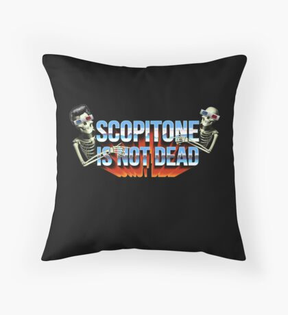 SCOPITONE IS NOT DEAD Coussin de sol