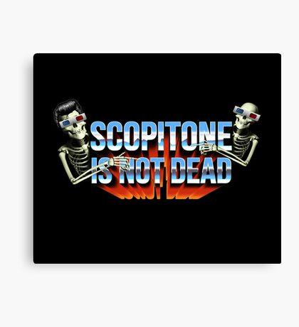 SCOPITONE IS NOT DEAD Impression sur toile
