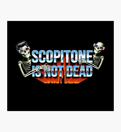 SCOPITONE IS NOT DEAD Impression photo