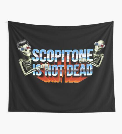 SCOPITONE IS NOT DEAD Tenture murale