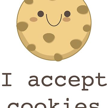 I accept cookies by PamelaEmme