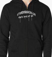 Stormageddon - Dark Lord of ALL Zipped Hoodie