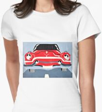 1950's Car Women's Fitted T-Shirt