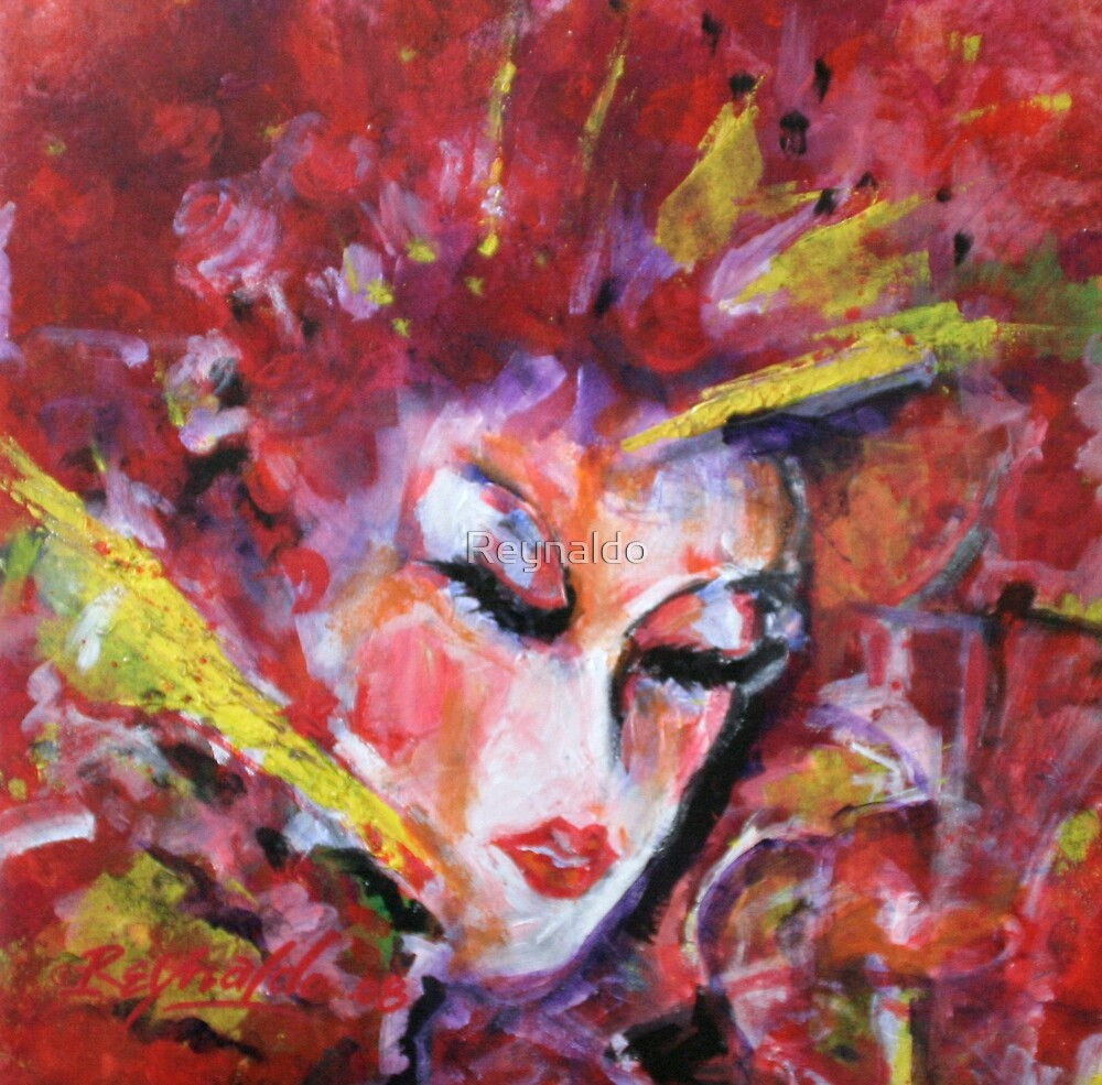 Geisha 2 by Reynaldo