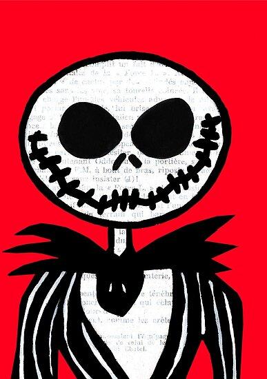Jack on Red  by jerasky