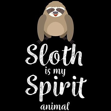 Sweet sloth design for real sleepyheads and late sleepers by shirtrevolution