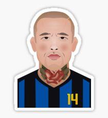 Radja Nainggolan, Inter Milan Sticker