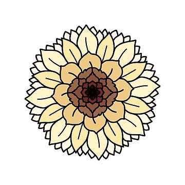 Flower mandala  by pastelquartz