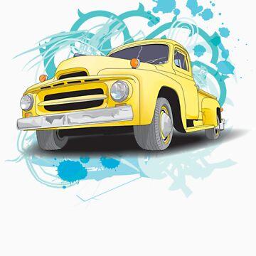 Old Truck by Kelwin