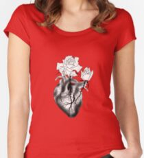 Beauty is in the heart Women's Fitted Scoop T-Shirt