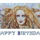 Mathilde Hekate Happy Birthday by Rineke de Jong