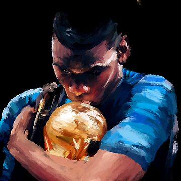 Champion Paul Pogba by mrkjhnwht