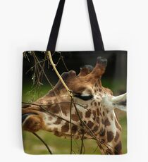 Working with tongue and lips Tote Bag