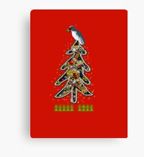 Aussi christmas cockatoo (card) Stock up , get ready Christmas ! Canvas Print