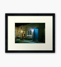 Motel - Barstow CA USA Framed Print