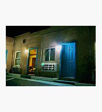 Motel - Barstow CA USA Photographic Print