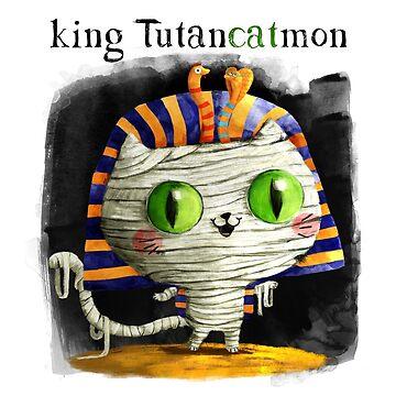 King Tutencatmon by colonelle