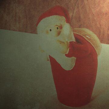 Sneaky Santa   by DeniseAbe