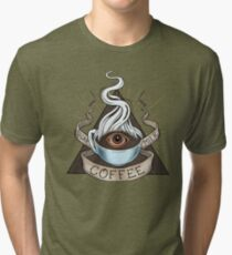 The Holy Trinity of Caffeine Tri-blend T-Shirt