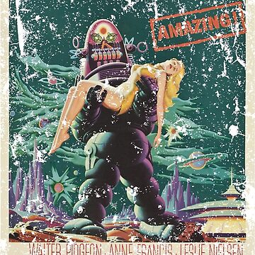 Forbidden Planet Movie Science Fiction ( Rusted Version )  by alphaville