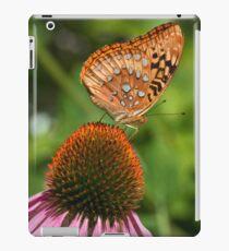 Butterfly on Cone Flower iPad Case/Skin