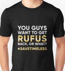 #SaveTimeless Unisex T-Shirt