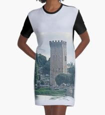 Florence Tower Graphic T-Shirt Dress